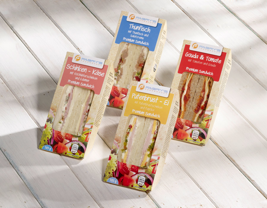 Sandwich Sortiment Fabrys Food and Snack